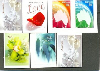 Australia-Greetings 2013 New issue-self-adhesive setof 6 mnh