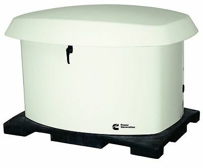 Brand Cummins 20kW NG/LP Automatic Standby Generator-Cold Weather Equipped!