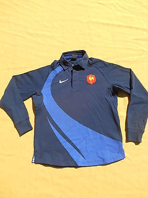 FRANCE Jersey Maglia Maillot FFR Nike Rugby 2007 IRB Tournoi World Cup Nation XV