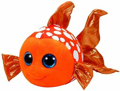 Sami Clownfish Beanie Boo Large 16 inch - Stuffed Animal by Ty (37072)