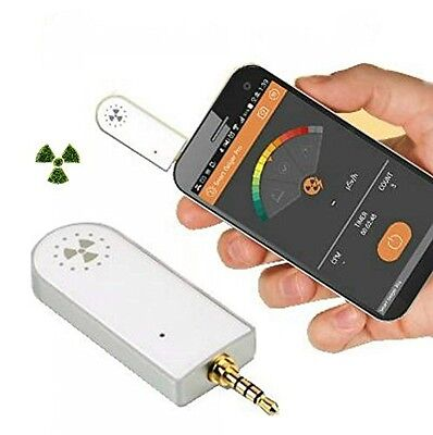 Smart Geiger Pro SGP-001 Nuclear Radiation Detector Counter For Smart Phone iOS
