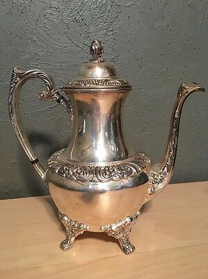 Heritage 1847 Rogers Bros 9401 Tea Pot Teapot Silver plated