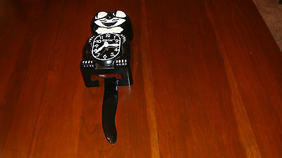 Vintage Black Kit Cat Clock - Not Working - All Parts included, & in Great Cond.