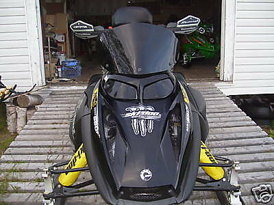 Ski-Doo rev mxz gsx gtx headlight covers