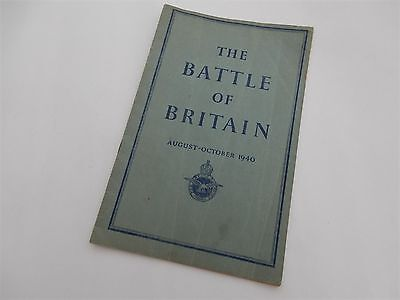 The Battle of Britain - The first official history 1941