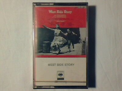 COLONNA SONORA OST West side story mc cassette k7 ITALY SIGILLATA SEALED!!!