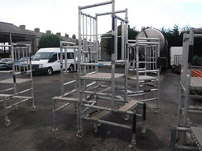 1 Aluminium Podium Steps, Working Platform, Strong Commercial Quality Heavy Duty
