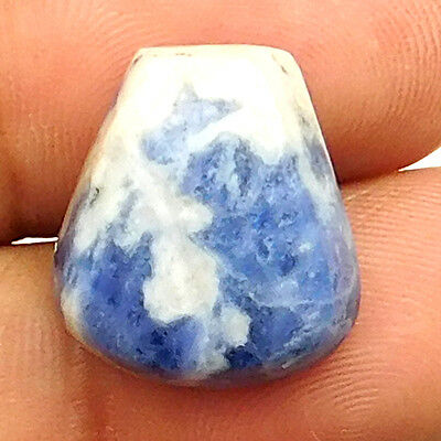 16.95 cts Natural Untreataed Sodalite Gemstone Fancy Loose Quality Cabochon