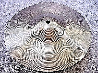 """VINTAGE Old 1960s 10"""" ZYN Paper Thin SPLASH Cymbal *Exc GNARLYVILLE 196g *WWSHIP"""