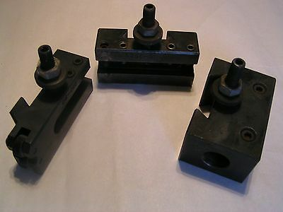 Metal Lathe Tooling- Lot of 3- used