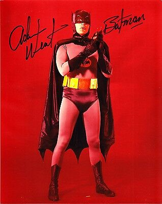 Adam West Signed 1960s Batman Autograph Original 10x8 Photo