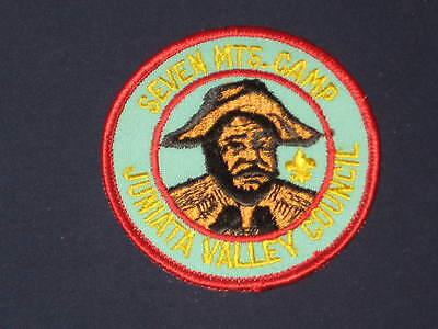 Seven Mts. Camp Patch   CJP  cp