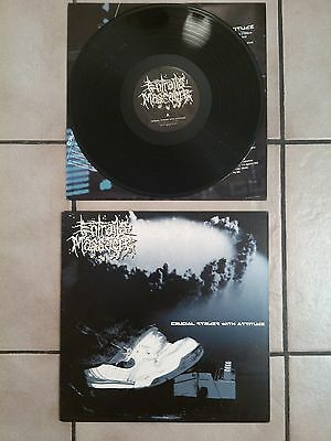 Entrails Massscre crucial strikes with attitude VINYL