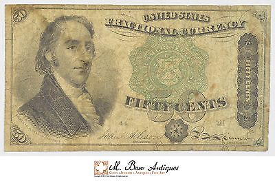 1869-1875 Fifty Cents 4th Issue Fractional Currency *693