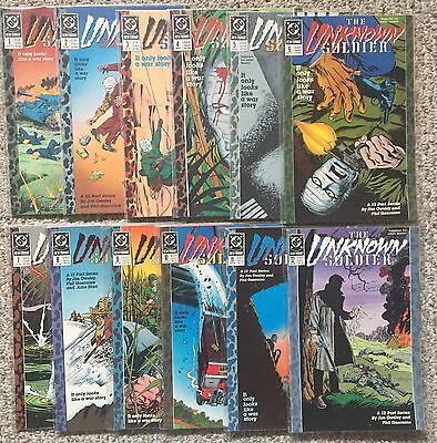 Unknown Soldier Lot Of 12 Comics, #1 To 12, Full Run, High Grade