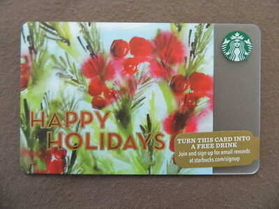 STARBUCKS CARD ( to collect no value ) USA 2015  HAPPY HOLIDAYS