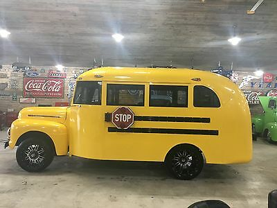 1951 Ford Other Bus 1951 Ford Short Hot Rod F1 Vintage School Bus With AC and Heat.  Custom rims.
