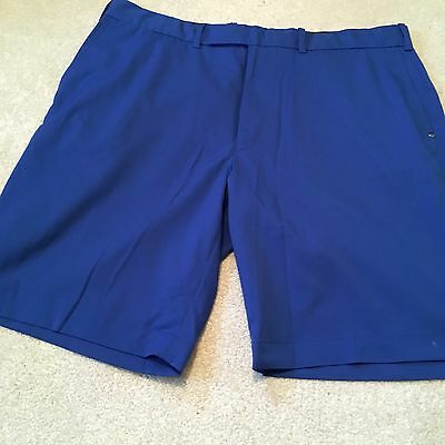 "Mens Ralph Lauren Rlx Blue Golf Shorts, 38"" Waist, Good Condition"