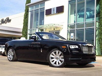2017 Rolls-Royce Dawn  2017 Convertible Used Automatic Black