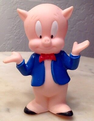 Vintage Porky Pig Squeeze Toy 1994
