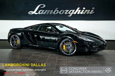 2012 McLaren MP4-12C  NAV+CARBON FIBER+SPORT EXHAUST+STEALTH PACKAGE+SPECIAL PAINT+FORGED WHEELS