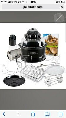 Halowave Aircooker Deluxe Bumper Offer: Halogen Air Cooking With Rotisserie Func