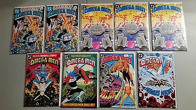 The Omega Men Comic Lot #1,2,3 1st Lobo,4,9,18