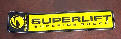 Decal Automotive OFF ROAD  SUPERLIFT superide shock