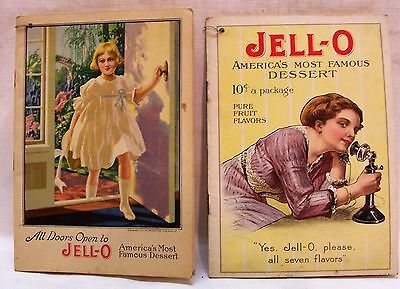 Two Vintage Jell-O Recipe Booklets both in Very Good Condition