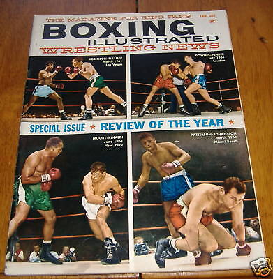 boxing illustrated magizine jan1962  special issue