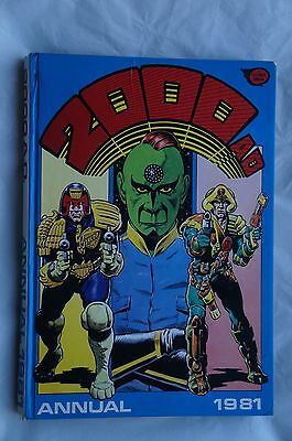 Vintage 2000 AD 1981 Annual - Judge Dredd Book - UK Annual - 36 Years Old