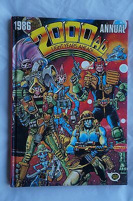 2000 AD Annual 1986 - UK Annual - 31 Years Old - Judge Dredd