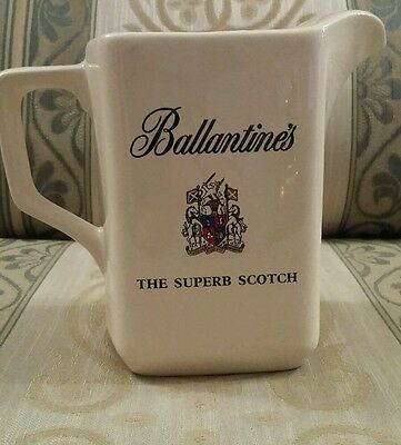 authentic Ballantines Scotch Whisky water jug