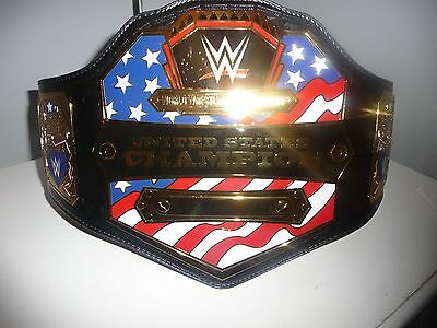 Wwf Wwe United States Replica Belt Adult Size Signed By Matt Hardy