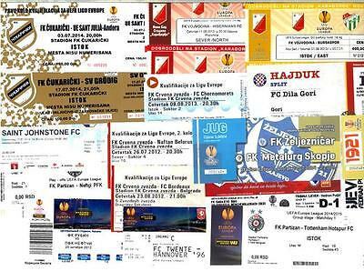EUROPA LEAGUE TICKETS_2012 - 2014 ! From 1,00 GBP....