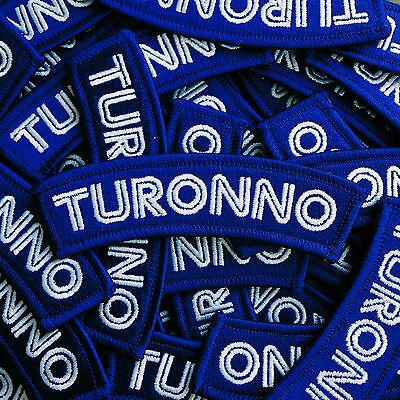 "Embroidered ""Turonno"" Patch - toronto iron on blue jays canada canadiana"