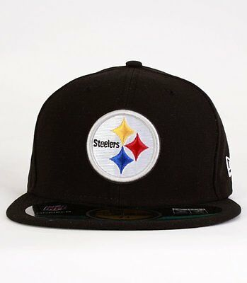 Casquette New Era Steelers NFL On Field  59Fifty noire