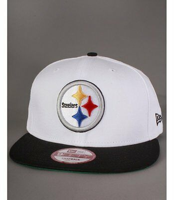 Casquette Snapback New Era Steelers Blanc Top