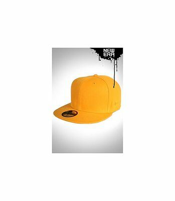 Casquette New Era Blanks jaune