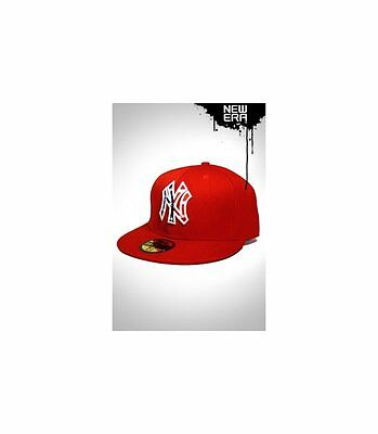 Casquette New Era NY Stars and Stripes Rouge