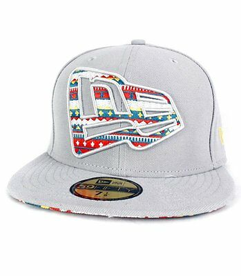 Casquette New Era Pattern Fill Grise