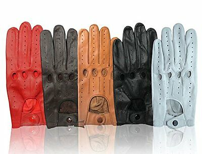 Real Leather Men's Driving Gloves Top Quality Soft Leather