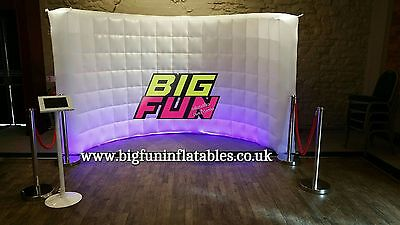 Inflatable LED Wall Photobooth - FLASH SALE - UK Supplier - Big Fun Inflatables