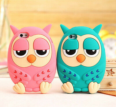 Universal 3.5mm Sweet Owl Anti Dust Plug Ear Cap Plug Stopper For mobile phone