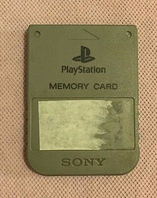 Sony PlayStation 1 PS1 PSOne - Genuine & Official Memory Card