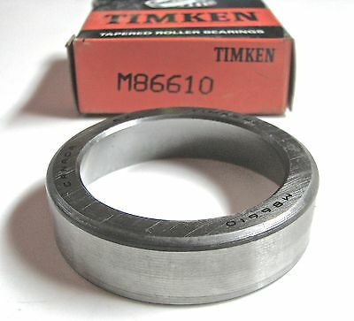 Timken M86610 Tapered Roller Bearing Race / Cup - Corvette, Volvo, Fury, Mustang