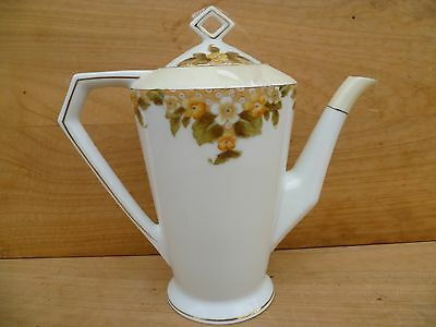 Vintage Old Large Size Retro China Tea-Pot, Old Kitchen Teapot (D76)