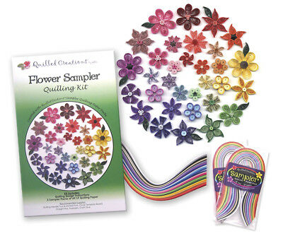 Quilled Creations Quilling Kit - Flower Sampler