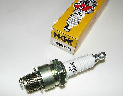 NGK BR9HS-10 Spark Plugs - Mercury Outboard 7.5 & 9.8 hp. - Lot of 2