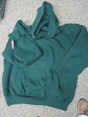 Camber Pullover Sweatshirt Hood Extra Heavy Weight Thermal Green X- Large